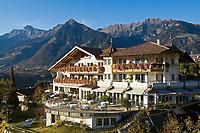 Italien, Suedtirol, bei Meran, Schenna: 4-Sterne-Hotel Schwefelbad   Italy, South Tyrol, Alto Adige, near Merano, Scena: 4-star-hotel Schwefelbad