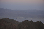 Israel, Eilat Mountains, a view of Mount Shlomo from Mount Yoash