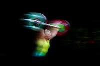 Pip Malone of Australia competes in the Women's 69kg Final. Gold Coast 2018 Commonwealth Games, Weightlifting, Gold Coast, Australia. 8 April 2018 © Copyright Photo: Anthony Au-Yeung / www.photosport.nz