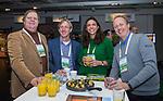 BUSSUM -  Toine Berkelmans, Duco van Oosterhout, Bartje Meijboom, Remco van der Have.  Nationaal Golf Congres & Beurs. COPYRIGHT KOEN SUYK