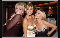 Joanna Lumley OBE - Carol Royle - Lynsay DePaul - Compassion in World Farming, Charity Dinner - Park Lane Hotel, Piccadilly, London W1 - 29th November 2003 - <br /> <br /> Compassion in World Farming (CIWF) was founded in 1967 as a response to the development of modern, intensive factory farming.<br /> <br /> Today they peacefully campaign to end all cruel factory farming practices. They believe that the biggest cause of cruelty on the planet deserves a focused, specialised approach - so they only work on farm animal welfare.