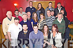 Party Time - Members of Banna Sea Rescue Unit pictured having a ball at their Christmas Party held in McElligot's Bar, Ardfert on Saturday night, seated l/r Martin Maguire, Sean Hogan, Grainne Costelloe and Bernie Slattery, standing l/r Mike McCarthy, Frank Lawlor, Raymond Lowman, Dr. John Casey, James O'Loughlan, Claire O'Sullivan, Kathleen O'Loughlan, John Riordan, Mike McCarthy, Martin Ennis and Tom Ward, back l/r Thomas Fitzgerald, Brendan Quarne, Vicky Foley, Thomas Fitzgerald and Billy Walshe................................................................................................................................................................................................................................................................................... ............
