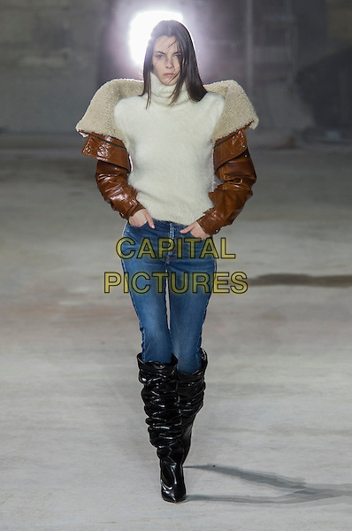 SAINT LAURENT<br /> at Paris Fashion Week FW 17 18<br /> in Paris, France on February 28, 2017.<br /> CAP/GOL<br /> &copy;GOL/Capital Pictures