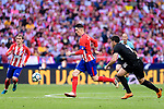 Fernando Torres of Atletico de Madrid (C) in action during the La Liga match between Atletico Madrid and Eibar at Wanda Metropolitano Stadium on May 20, 2018 in Madrid, Spain. Photo by Diego Souto / Power Sport Images