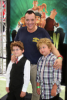 """LOS ANGELES - AUG 5:  Tom Sizemore, sons Jayden and Jagger arrives at the """"ParaNorman"""" Premiere at Universal CityWalk on August 5, 2012 in Universal City, CA ©mpi27/MediaPunch Inc"""