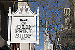 Old Print Shop, Midtown East, New York, New York