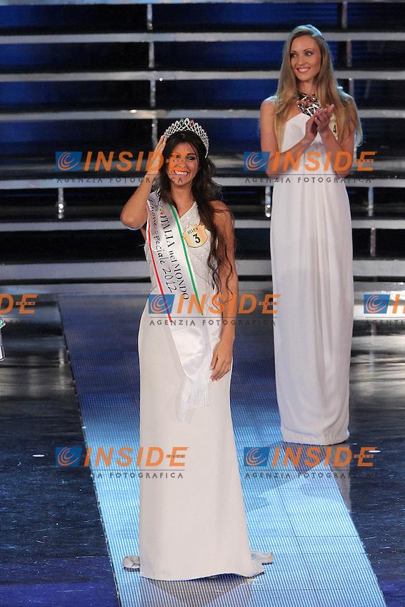 Aylen Nail Maranges Miss Italia nel Mondo 2012..Montecatini Terme 09/09/2012..Finali nazionali Miss Italia 2012..Foto Insidefoto Paolo Nucci..