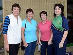 Catherine Clarke, Kathleen King, Bernie Lynch and Anne Lynch who walked the Ferdia Challange in Ardee. Photo:Colin Bell/pressphotos.ie