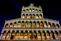 San Michele in Foro (Church), Lucca, Tuscany, Italy