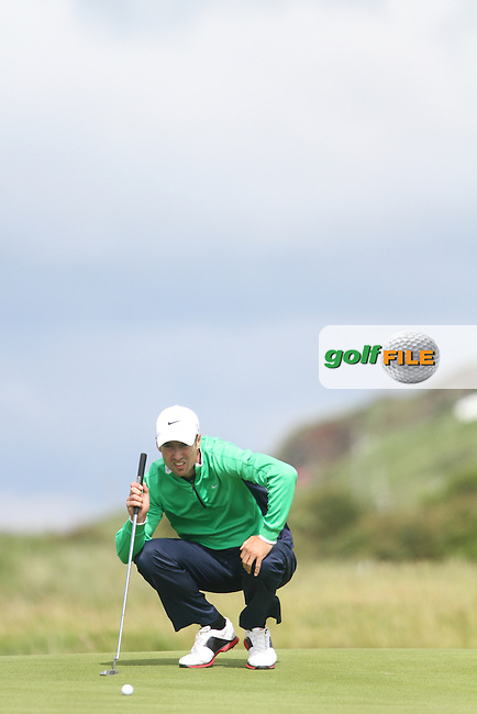 Ross Fisher (ENG) on Day 2 of the 2012 Irish Open at Royal Portrush Golf Club, Portrush, Co.Antrim, 29/6/12...(Photo Jenny Matthews/www.golffile.ie)
