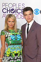 LOS ANGELES, CA - JANUARY 09: Paris Hilton and River Viiperi at the 39th Annual People's Choice Awards at Nokia Theatre L.A. Live on January 9, 2013 in Los Angeles, California. Credit: mpi21/MediaPunch Inc. /NORTEPHOTO