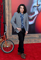 "LOS ANGELES, USA. August 27, 2019: Nick Wolfhard at the premiere of ""IT Chapter Two"" at the Regency Village Theatre.<br /> Picture: Paul Smith/Featureflash"
