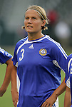 25 August 2007: Jessica Julin. The United States Women's National Team defeated the Women's National Team of Finland 4-0 at the Home Depot Center in Carson, California in an International Friendly soccer match.