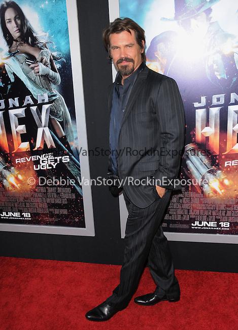Josh Brolin  at the Warner Bros. Pictures Special Screening of Jonah Hex in Hollywood, California on June 17,2010                                                                               © 2010 Debbie VanStory / Hollywood Press Agency