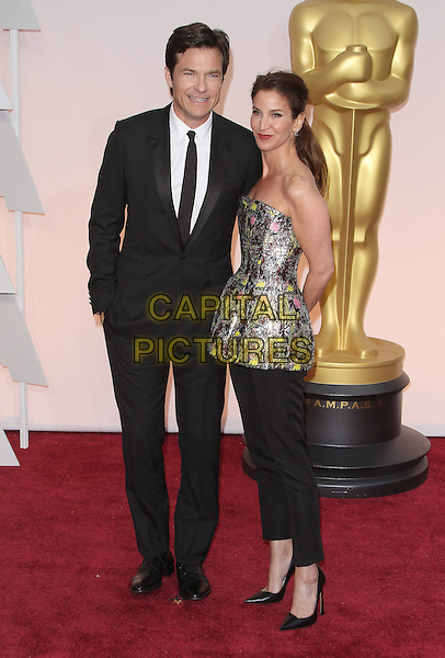 22 February 2015 - Hollywood, California - Jason Bateman, Amanda Anka. 87th Annual Academy Awards presented by the Academy of Motion Picture Arts and Sciences held at the Dolby Theatre. <br /> CAP/ADM<br /> &copy;AdMedia/Capital Pictures Oscars