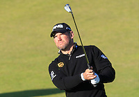 Lee Westwood (ENG) on the 10th fairway during Round 2 of the 2015 Alfred Dunhill Links Championship at Kingsbarns in Scotland on 2/10/15.<br /> Picture: Thos Caffrey | Golffile