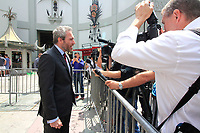 LOS ANGELES - MAY 15: Britain's Consul General Michael Howells at an event to sign a wedding card as they Kick Off Hollywood's Salute To The Royal Wedding at TCL Chinese Theatre IMAX on May 15, 2018 in Los Angeles, California