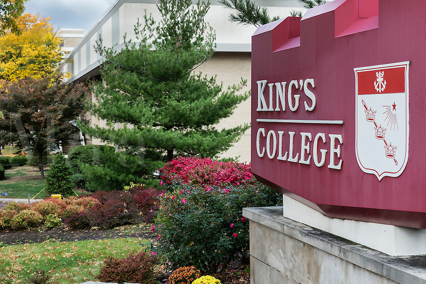 King's College Campus, Wilkes-Barre, Pennsylvania, USA