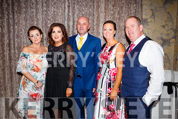 Denise Relihan, Gillian Healy,Tom Dineen, Jennifer Williams, John Williams at the Kerry Ladies Gaelic Football Association Awards in The Rose Hotel on Saturday night.
