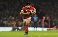 Wales Leigh Halfpenny makes a break<br /> <br /> Photographer Ian Cook/CameraSport<br /> <br /> 2019 Autumn Internationals - Wales v Barbarians - Saturday 30th November 2019 - Principality Stadium - Cardifff<br /> <br /> World Copyright © 2019 CameraSport. All rights reserved. 43 Linden Ave. Countesthorpe. Leicester. England. LE8 5PG - Tel: +44 (0) 116 277 4147 - admin@camerasport.com - www.camerasport.com