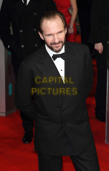 LONDON, ENGLAND - FEBRUARY 08: Ralph Fiennes attends the EE British Academy Film Awards at The Royal Opera House on February 8, 2015 in London, England<br /> CAP/ROS<br /> &copy;Steve Ross/Capital Pictures