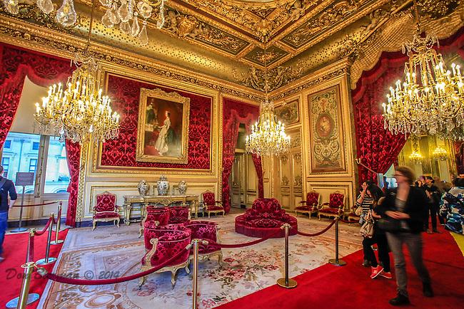 Musee du  Louvre: Napolien Apartment