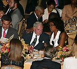Oprah Winfrey  ( Honoree )<br /> with David Rockefeller<br /> Attending the United Nations Association of USA Global Leadership Dinner honoring Oprah Winfrey with the Global Humanitarian Action Award at the Waldorf Astoria Hotel in New York City.<br /> September 30, 2004<br /> &copy; Walter McBride / Retna Ltd.
