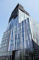 Nederland Amsterdam 2018 - The Rock aan de Zuidas.  The Rock is een 22 verdiepingen tellende kantoortoren en is onderdeel van Mahler4, een deelgebied van de Zuidas. Het gebouw is ontorpen door de Architekten Cie. Foto Berlinda van Dam / Hollandse Hoogte