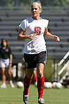 NC State's Jessica O'Rourke on Sunday, October 1st, 2006 at Koskinen Stadium in Durham, North Carolina. The Duke Blue Devils defeated the North Carolina State University Wolfpack 3-0 in an Atlantic Coast Conference NCAA Division I Women's Soccer game.