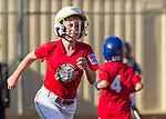 LALL Girls AAA softball. Red Hot Chili Peppers vs Blue Tidal Waves at Egan Diamond, April 22, 2014
