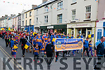 Feile Parade:Members of the St. Senan's  team that took part in then Feile parade in Listowel on Saturday evening last.