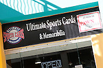Ultimate Sports Cards & Memorbilia grand opening