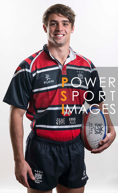 Hong Kong Junior Squad team member Chris Maize poses during the Official Photo Session Day at King's Park Sports Ground ahead the Junior World Rugby Tournament on 25 March 2014. Photo by Andy Jones / Power Sport Images