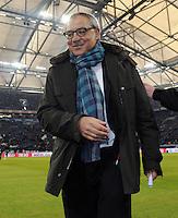 FUSSBALL   1. BUNDESLIGA   SAISON 2011/2012   22. SPIELTAG FC Schalke 04 - VfL Wolfsburg         19.02.2012 Trainer Felix Magath (VfL Wolfsburg)