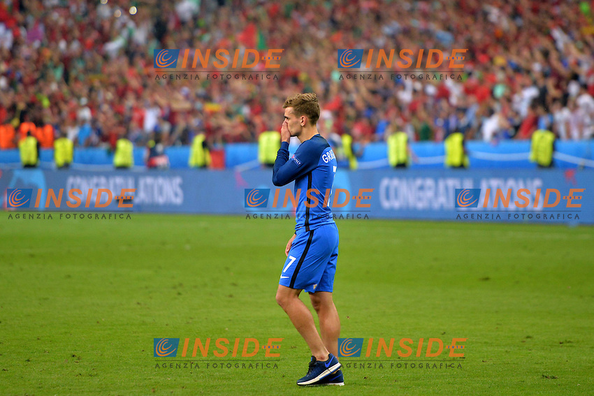 Delusione Antoine Griezmann ( France ) <br /> Paris 10-07-2016 Stade de France Football Euro2016 Portugal - France / Portogallo - Francia Finale/Finals<br /> Foto Anthony BIBARD/ Panoramic / Insidefoto