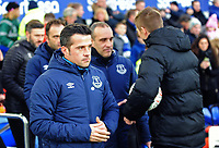 Everton manager Marco Silva<br /> <br /> Photographer Andrew Vaughan/CameraSport<br /> <br /> Emirates FA Cup Third Round - Everton v Lincoln City - Saturday 5th January 2019 - Goodison Park - Liverpool<br />  <br /> World Copyright &copy; 2019 CameraSport. All rights reserved. 43 Linden Ave. Countesthorpe. Leicester. England. LE8 5PG - Tel: +44 (0) 116 277 4147 - admin@camerasport.com - www.camerasport.com