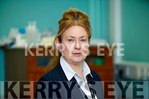 Betty Murphy (Operations Manager University Hospital Kerry),  pictured at a press conference at University Hospital Kerry on Monday.