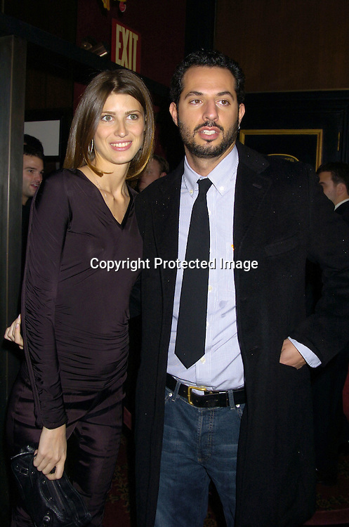"Guy Oseary and date ..at The World Premiere of ""The Life Aquatic with Steve Zissou""  on December 9, 2004 at The Ziegfeld Theatre. ..Photo by Robin Platzer, Twin Images"