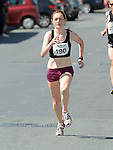 Fiona Roche was first lady home in the Dunleer 4 mile run. Photo:Colin Bell/pressphotos.ie
