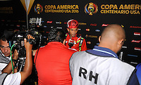 Philadelphia, PA - Tuesday June 14, 2016: Panama  during a Copa America Centenario Group D match between Chile (CHI) and Panama (PAN) at Lincoln Financial Field.