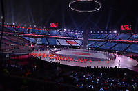 OLYMPIC GAMES: PYEONGCHANG: 09-02-2018, PyeongChang Olympic Stadium, Olympic Games, Opening Ceremony, Team Japan, ©photo Martin de Jong