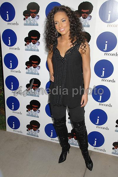 17 November 2007 - Los Angeles, California - Alicia Keys. Alicia Keys One Night Only Performance at Bellavardo Studios. Photo Credit: Byron Purvis/AdMedia