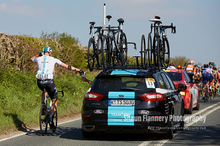 Picture by Shaun Flannery/SWpix.com - 05/05/2018 - Cycling - 2018 Tour de Yorkshire - Stage 3: Richmond to Scarborough - Yorkshire, England