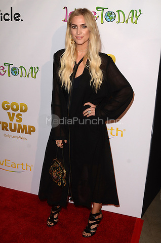 "HOLLYWOOD, CA - NOVEMBER 07: Ashlee Simpson at  the Premiere Of ""God vs Trump"" At TCL Chinese theatre in Hollywood, California on November 07, 2016. Credit: David Edwards/MediaPunch"
