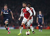 2nd November 2017, Emirates Stadium, London, England; UEFA Europa League group stage, Arsenal versus Red Star Belgrade; Olivier Giroud of Arsenal in action
