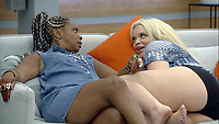 Celebrity Big Brother 2017<br /> Sandi Bogle and Trisha Paytas<br /> *Editorial Use Only*<br /> CAP/KFS<br /> Image supplied by Capital Pictures