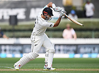30th November 2019, Hamilton, New Zealand;  New Zealand's Daryl Mitchell on debut during play on day 2 of 2nd test match between New Zealand and England,  International Cricket at Seddon Park, Hamilton, New Zealand.  - Editorial Use