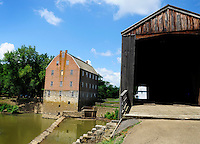 Bollinger Mill and Covered Bridge State Historic Site, June 28, 2010.
