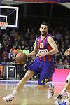 Euroleague el FC Barcelona guanya 83 -82 al Panathinaikos en el primer partit del playoff. A la Foto Juan Carlos Navarro