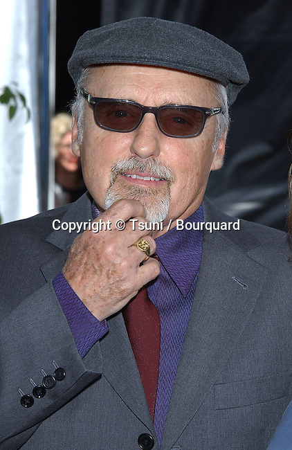 Dennis Hopper arriving at the 2002 IFP/West Independent Spirit Awards on the Beach in Santa Monica, Los angeles. March 23, 2002.